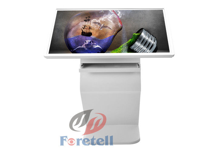 49 Inch Wifi IR Touch Screen Monitor Kiosk , Interactive Product Display Digital Signs For Business
